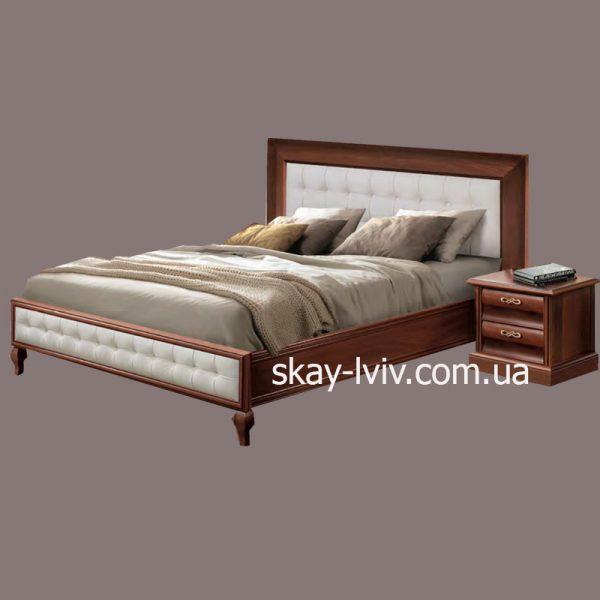 С-2 Ліжко (с/м) 180х200 горіх