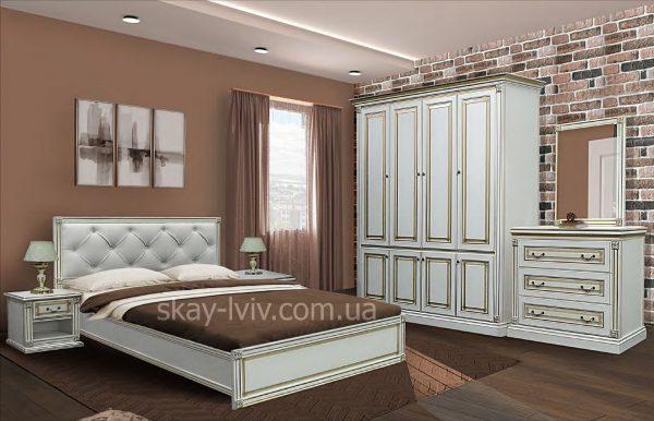 Міра Комплект з 4-х дверною шафою