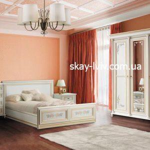 Принцесса Спальня Комплект з 3-х дверною шафою