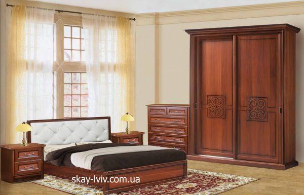 С-3 Спальня комплект горіх