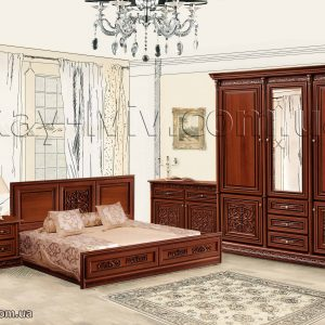 Тоскана Нова спальня кпл гор
