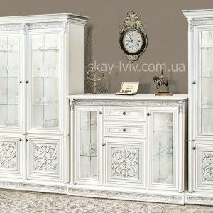 Тоскана Нова комплект варіант №4 білий/срібло