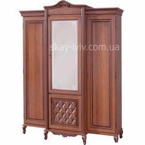 Новіта Шафа 3-х дверна горіх