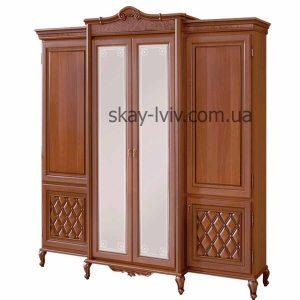 Новіта Шафа 4-х дверна горіх