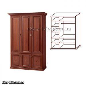 Тера Шафа 3-х дверна горіх