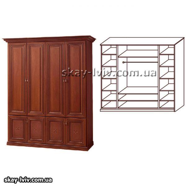Тера Шафа 4-х дверна горіх