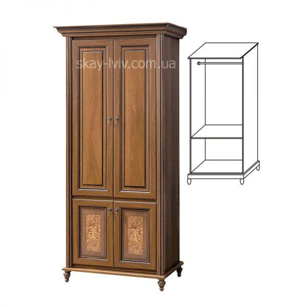 Верона Шафа 2-х дверна 2.29 горіх
