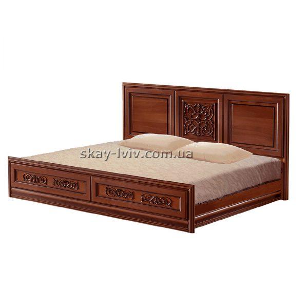 Тоскана Ліжко 2-х спальне горіх