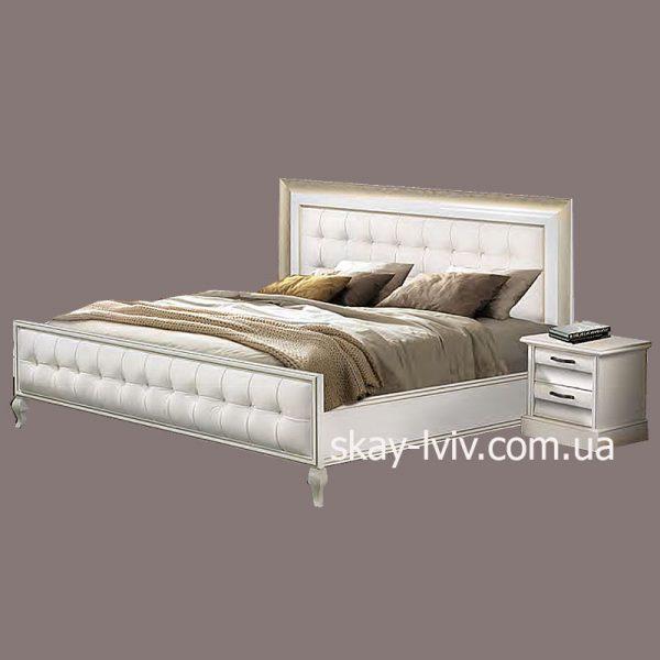 С-2 Ліжко (с/м) 180х200 білий