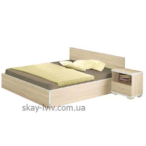 Нео Ліжко 2-х спальне дуб сонома